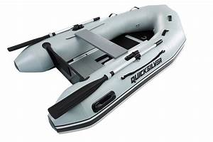 Quicksilver Sport 250 Grey Pvc Inflatable Boat And Mariner