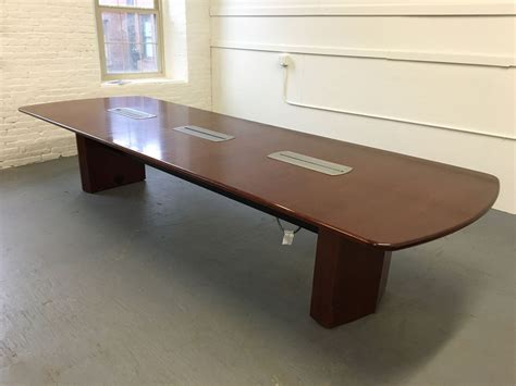 mahogany conference table conklin office furniture