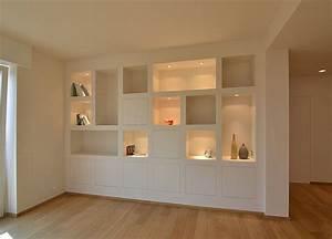 Soft Close Schublade Ausbauen : dachgeschoss wohnzimmer design wandfl chenm bel von trel in kombination mit gipskarton ~ Eleganceandgraceweddings.com Haus und Dekorationen