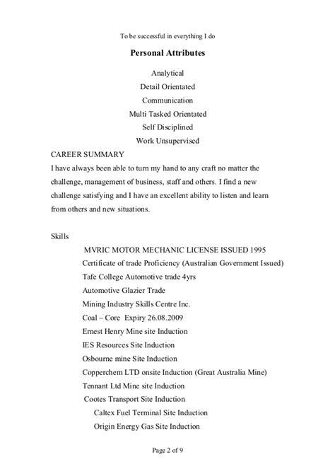 Glazier Resume Objective by Resume