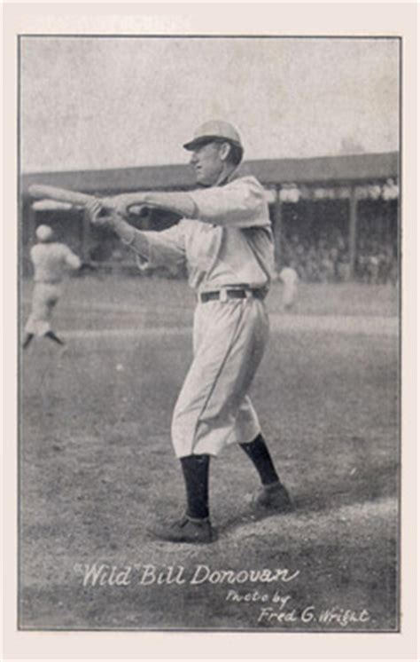 hm taylor postcards wild bill donovan  baseball