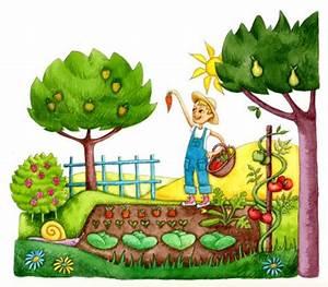 Jardin Dessin Couleur : potager clipart 12 clipart station ~ Melissatoandfro.com Idées de Décoration
