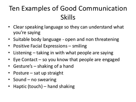 verbal communication quotes like success