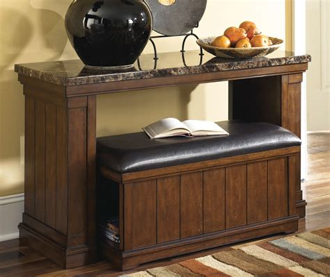 sofa table with storage marble top coffee table with ottoman lowest priced