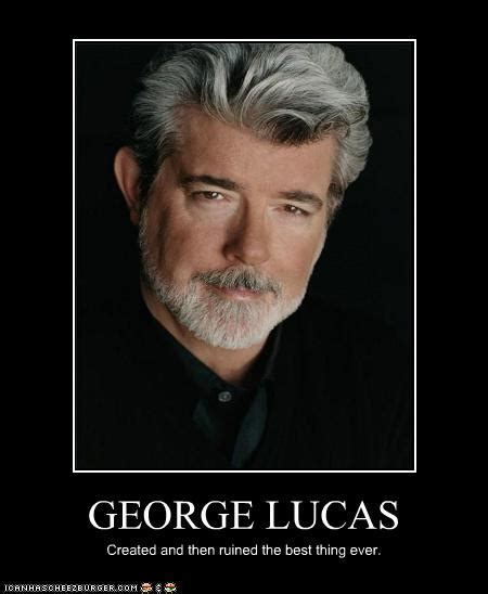 George Lucas Memes - cow bell tech george lucas says he will never make another star wars movie