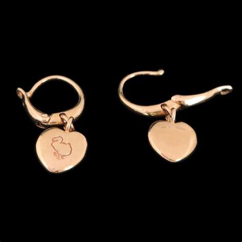 cuore pomellato boucles d oreilles dodo pomellato cuore en or