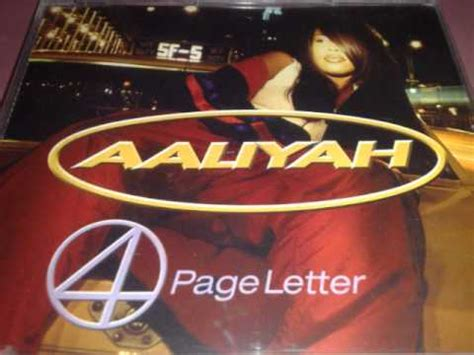aaliyah 4 page letter aaliyah 4 page letter timbaland s mix 20354