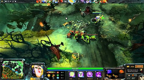 dota 2 witch doctor gameplay youtube