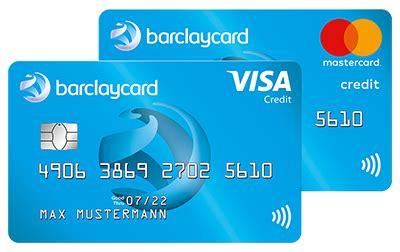 kreditkarten vergleich alle karten barclaycard