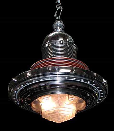 beautiful deco machine age chandelier for sale antiques classifieds