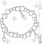 Bracelet Coloring Decorative Designlooter 1232 63kb 1300px sketch template