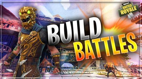 console build battles fortnite battle royale gameplay