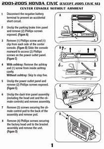 2005 Honda Civic Installation Parts  Harness  Wires  Kits