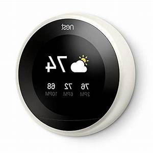 Nest Learning Thermostat 3rd Generation White 2 Pack