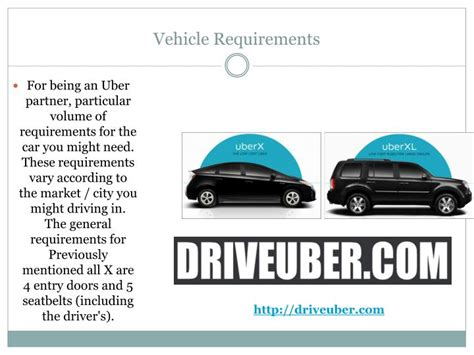 Drive For Uber Powerpoint Presentation