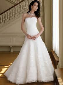 a line wedding dresses white a line princess wedding dress ipunya