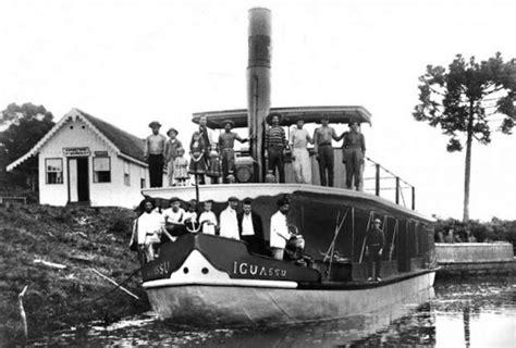 Barco A Vapor Primeiro by Rio Igua 231 U E Sua Importancia Na Historia Do Paran 225