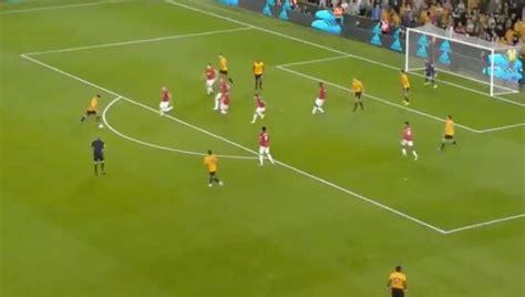 video ruben neves goal  draw wolves level  man utd