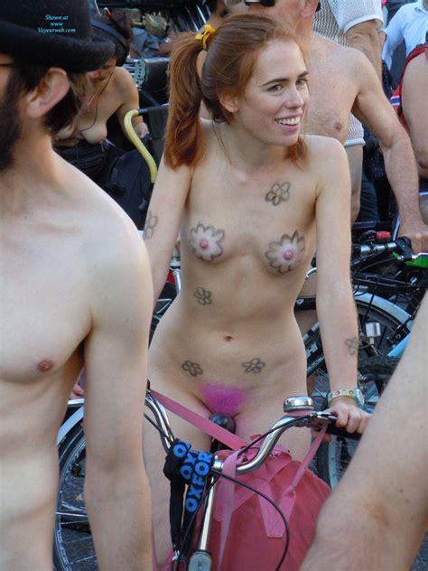 London Naked Bike Ride May Voyeur Web