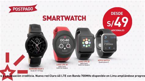 ¡llévate Un Smartwatch Desde S/49!