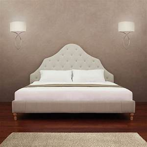 Alice button tufted king size bed overstockcom shopping for Best deal on king size mattress