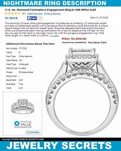 This ring will be a nightmare jewelry secrets for Wedding ring description
