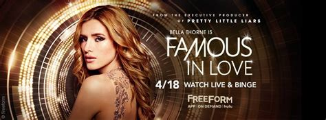 Famous In Love Tv Show On Freeform Ratings (cancelled Or