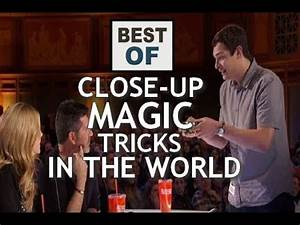 BEST OF : CLOSE-UP MAGIC TRICKS IN THE WORLD - YouTube