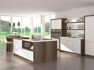 Moderne Küche Mit Kochinsel Und Theke : k che mit kochinsel und k chenbar ~ Bigdaddyawards.com Haus und Dekorationen