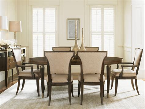 tower place oval dining table home brands