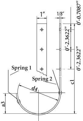 Hanger Roof Standard
