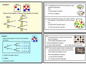 Probability Tree Diagrams  Pptx