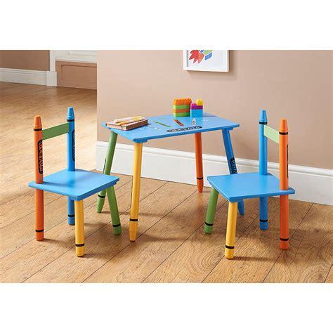 B&m Crayon Table & Chairs  311273 B&m
