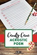 FREE Christmas Acrostic Poem Template for Kids | Acrostic ...