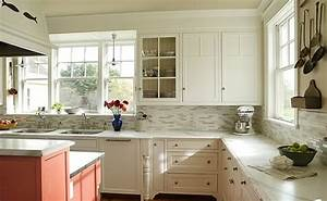 Perfect Kitchen Backsplashes With White Cabinets Railing