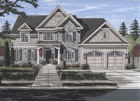 Luxury House Plan #169-1117