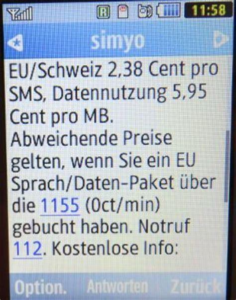 simyo prepaid sim karte deutschland