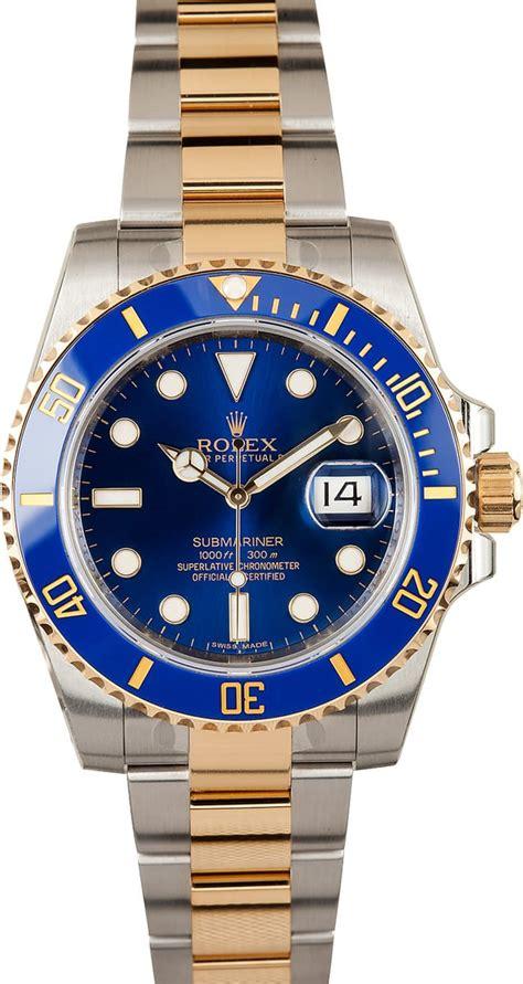 rolex submariner   tone bobs watches