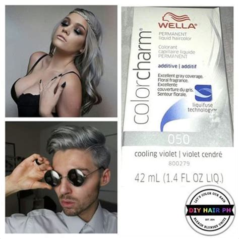 wella color charm 050 always wanted to silver hair wella color charm