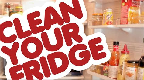 clean  refrigerator quick easy kitchen cleaning