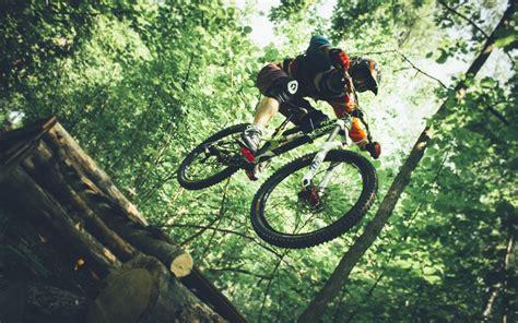 Downhill Mountain Biking, Mountain Bikes, Helmet ...