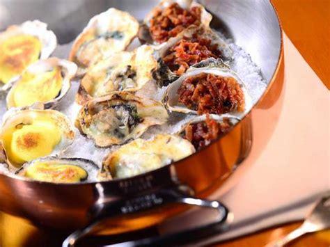 cuisines de a à z recettes de huîtres gratinées de a à z