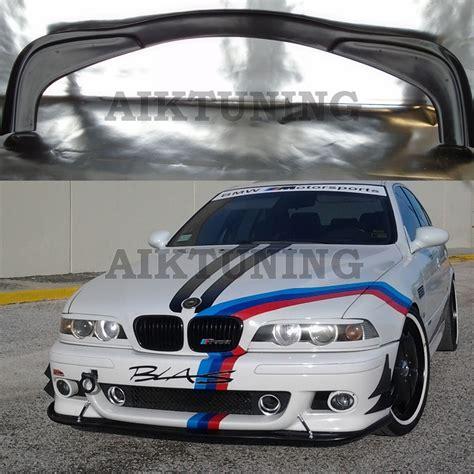Bmw E39 Front M5 Bumper Hm Style Splitter Addon Valance