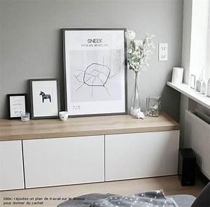 Meubles Besta Ikea : id es utilisation meuble besta ikea design de maison ~ Nature-et-papiers.com Idées de Décoration