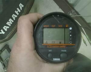Yamaha Tachs And Lcd Marine Meter - The Hull Truth