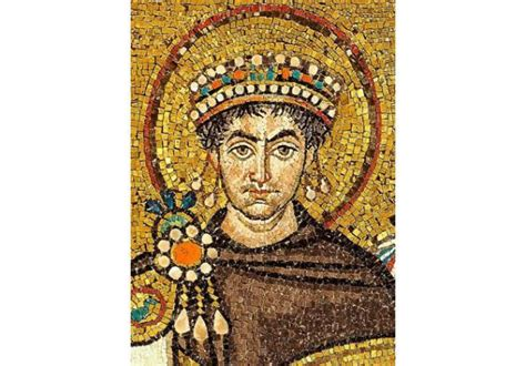 Byzantine Emperor Justinian The Great Dies