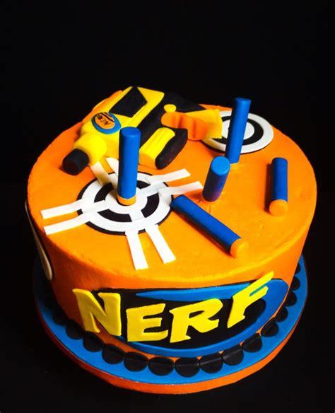 nerf birthday cake 1000 images about birthday ideas on paw