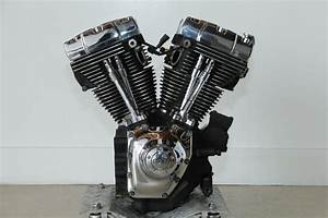 09 Harley Fl Twin Cam 103 1690 Engine Motor Run U0026drive