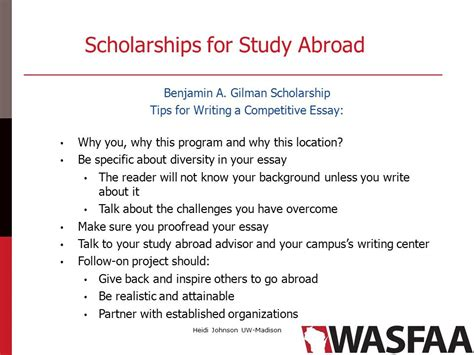 application essay study abroad an exercise in