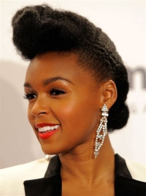 Celebrity Natural Hairstyles